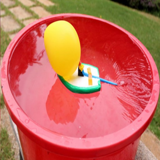 Simple Balloon Boat(Science)
