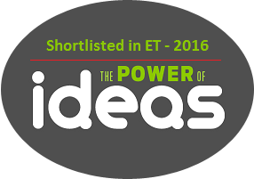 "Shortlisted in Economic Times ""Power of Ideas 2016"""