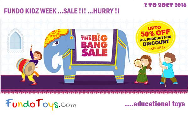 Fundo Kidz Week SALE
