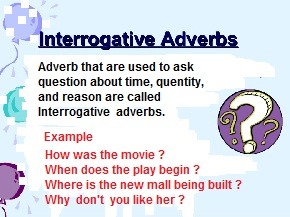 interrogative sentence sample